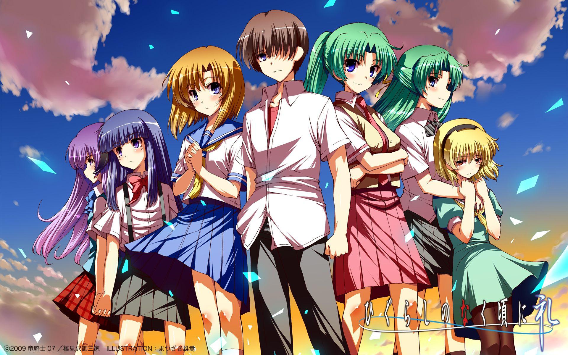 V studiu Passione se pripravlja nov anime Higurashi