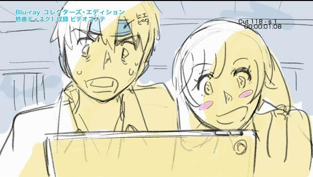 Shinkai Makoto posodi glas Hini in Hodaki iz filma Tenki no Ko